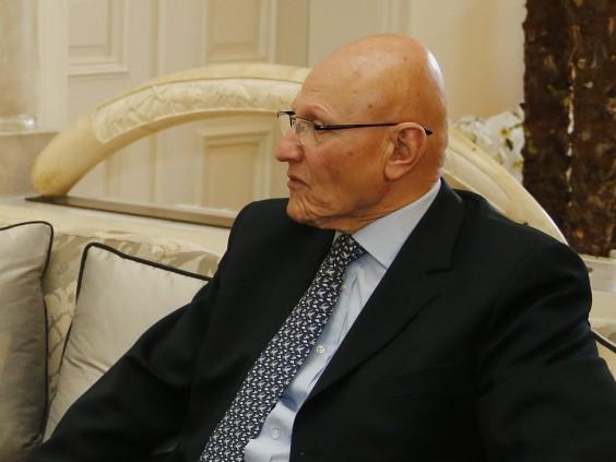 Arbeitsbesuch Libanon, Vizekanzler Michael Spindelegger trifft im Rahmen seiner Nah Ost Reise den designierten libanesischen Premierminister Tammam Salam in Beirut. 13.04.2013, Foto: Dragan Tatic